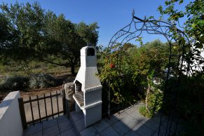 Apartments Gajac - Accommodation unit - Summer residence Kathy - Two bedroom apartment - Back entrance, garden and barbecue