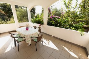 Apartments Mandre - Accommodation unit - Summer residence Magdalena - Three bedroom apartment - Terrace
