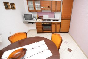 Apartments Mandre - Accommodation unit - Summer residence Stosica - Two bedroom apartment - Terrace, barbecue and garden - 01a