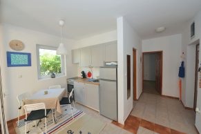 Apartments Novalja - Accommodation unit - Summer residence Natasa - One bedroom apartment - Kitchen and dining area