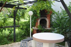 Apartments Novalja - Summer residence Brezovka - Barbecue and garden furniture - 01a