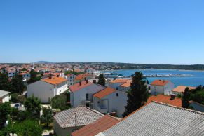 Apartments Novalja - Summer residence Goga - Sea view