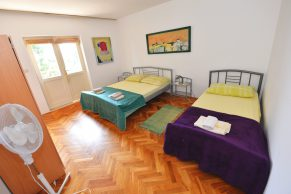 Apartments Novalja - Accommodation unit - Summer residence Goga - Two bedroom apartment - Bedroom - 01b