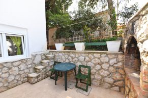 Apartments Novalja - Accommodation unit - Summer residence Goga - One bedroom apartment - Terrace with barbecue