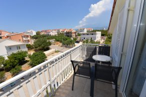 Apartments Novalja - Summer residence Pandora - Balcony view
