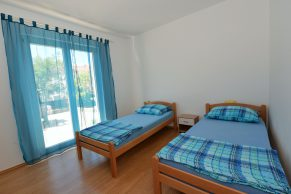 Apartments Novalja - Accommodation unit - Summer residence Tena - Two bedroom apartment - Bedroom - 01