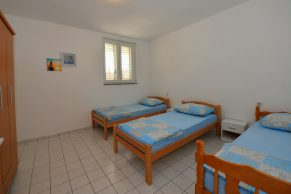 Apartments Novalja - Accommodation unit - Summer residence Tena - Two bedroom apartment - Bedroom - 02