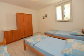 Apartments Novalja - Accommodation unit - Summer residence Tena - Two bedroom apartment - Bedroom - 02a